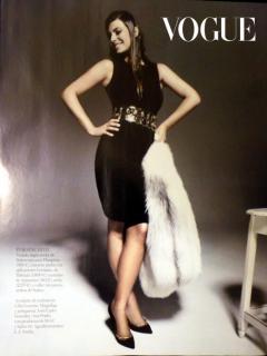 Marisa Jara in Vogue [521x694] [68.12 kb]