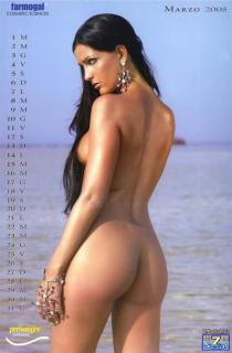 Alessia Merz in Calendario 2005 Nude [850x1293] [105.95 kb]