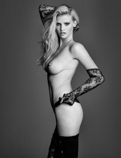 Lara Stone en W Magazine Desnuda [800x1042] [135.12 kb]