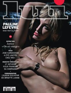 Pauline Lefèvre en Lui Magazine Desnuda [1238x1607] [325.38 kb]