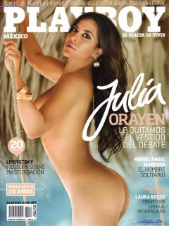Julia Orayen en Playboy Desnuda [1600x2126] [461.24 kb]
