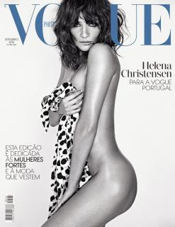 Helena Christensen en Vogue [1000x1291] [247.24 kb]