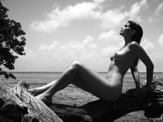 Shermine Shahrivar en Playboy Desnuda [1600x1200] [366.21 kb]