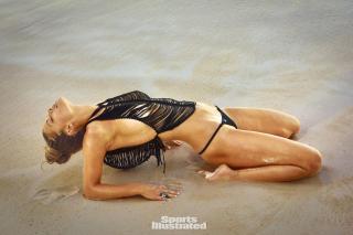 Nina Agdal en Si Swimsuit 2016 [1500x1001] [287.92 kb]