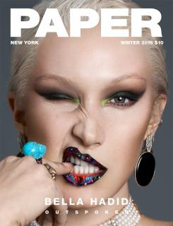 Bella Hadid en Paper Magazine [900x1173] [242.92 kb]