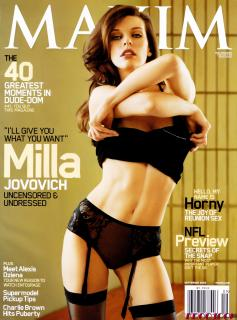 Milla Jovovich [556x800] [66.19 kb]
