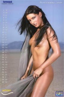 Alessia Merz en Calendario 2005 Desnuda [850x1282] [111.37 kb]