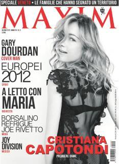 Cristiana Capotondi en Maxim [1500x2056] [386.71 kb]