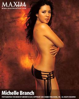 Michelle Branch en Maxim [400x500] [36.36 kb]