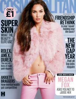 Megan Fox en Cosmopolitan [2362x3071] [1280.85 kb]