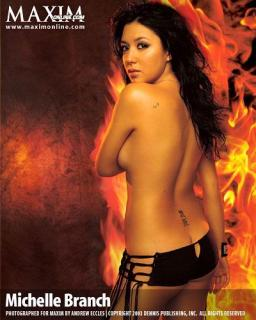 Michelle Branch en Maxim [400x500] [40.44 kb]