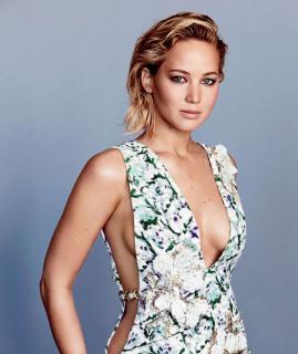 Jennifer Lawrence en Glamour [1600x1900] [376.75 kb]