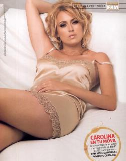 Carolina Cerezuela en Fhm [1000x1271] [116.87 kb]