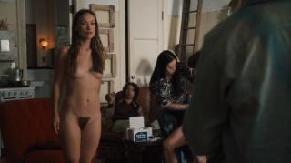 Olivia Wilde in Vinyl Nude [1919x1079] [209.22 kb]