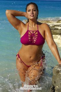 Ashley Graham en Si Swimsuit 2016 [1280x1920] [526.21 kb]