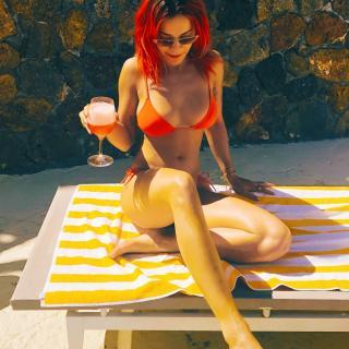 Rita Ora in Bikini [1080x1080] [276.21 kb]