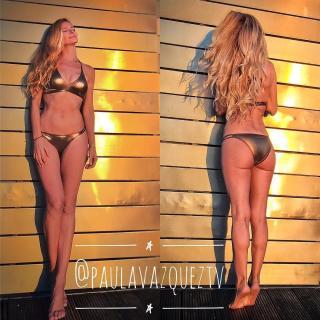 Paula Vázquez en Bikini [1080x1080] [249.93 kb]