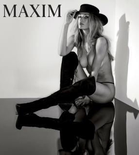 Hannah Ferguson en Maxim Desnuda [1200x1338] [145.38 kb]