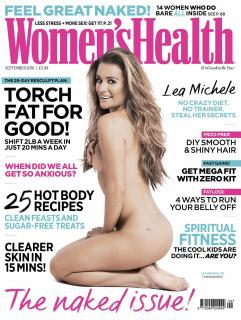 Lea Michele en Womens Health [1270x1684] [443.55 kb]