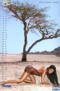 Alessia Merz en Calendario 2005 Desnuda [850x1283] [192.33 kb]