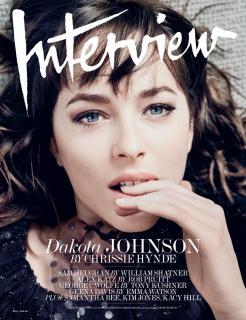 Dakota Johnson en Interview [769x1000] [223.27 kb]