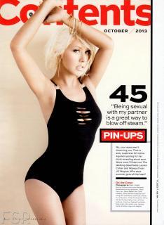Christina Aguilera en Maxim [1600x2188] [320.31 kb]