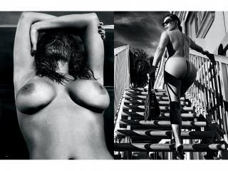 Kim Kardashian en Love Magazine [2048x1536] [670.15 kb]
