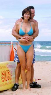 Catherine Bell in Bikini [1263x2321] [274.23 kb]