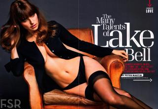 Lake Bell en Esquire [3000x2076] [652.27 kb]