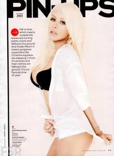 Christina Aguilera en Maxim [1600x2177] [289.81 kb]