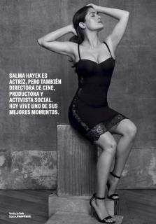 Salma Hayek in Gq [966x1385] [208.57 kb]