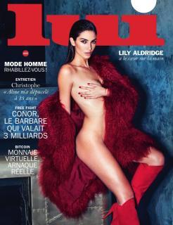 Lily Aldridge en Lui Magazine [970x1261] [254.06 kb]