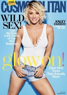 Kaley Cuoco en Cosmopolitan [839x1196] [210.54 kb]