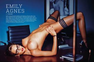 Emily Agnes en Playboy [3216x2135] [859.02 kb]