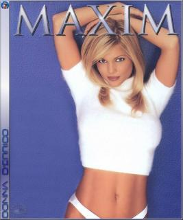 Donna D'Errico in Maxim [641x768] [115.25 kb]