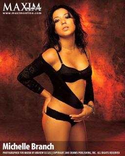 Michelle Branch en Maxim [400x500] [38.5 kb]