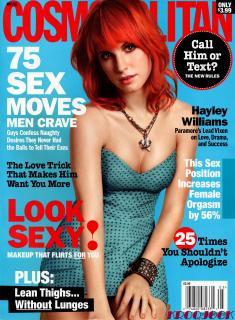 Hayley Williams en Cosmopolitan [2205x3000] [841.27 kb]