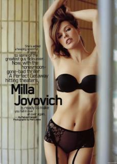 Milla Jovovich [628x800] [54.99 kb]