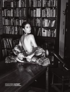 Lily Aldridge en Lui Magazine [970x1263] [259.97 kb]