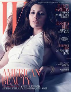 Jessica Biel dans W Magazine [800x1039] [112.47 kb]