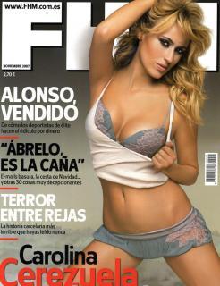 Carolina Cerezuela en Fhm [900x1168] [139.23 kb]