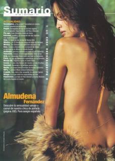Almudena nackt Fernandez Almudena Fernandez