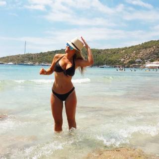 Inma Rodríguez en Bikini [1080x1080] [193.24 kb]