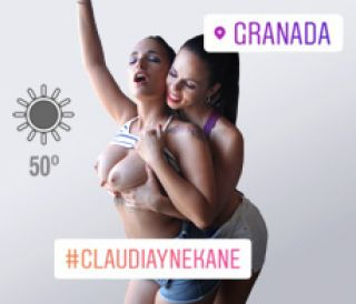 Video Claudia Bavel Y Nekane Follando: Arde Granada