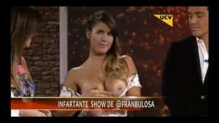 Video Francisca Undurraga Desnuda, Teta, Descuido - Toc Show