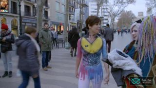 Video Samanta Villar Desnuda Por La Calle - Body Paint