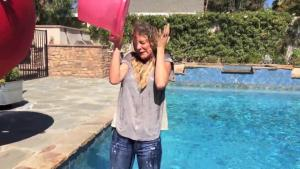 Video Jill Wagner - Ice Bucket Challenge