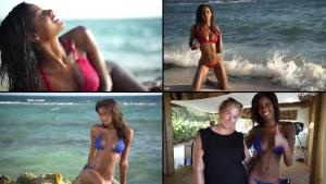 Video Ebonee Davis Al Descubierto Para Si Swimsuit 2016
