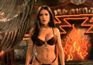 Video Salma Hayek, Baile Sensual - Abierto Hasta El Amanecer (1996)