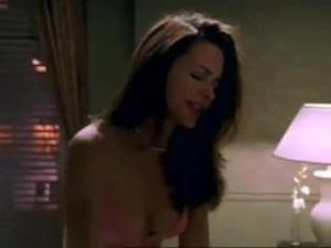 Video Cute Babe Kristin Davis Has Hot Sex With Two Lucky Guys In Hot Sex Sce
